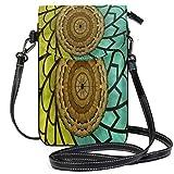 XCNGG Portefeuille de bourse de téléphone portable d'art pour les femmes fille petits sacs à main à bandoulière