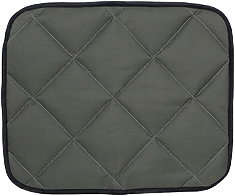Car Dog Pad Pet Cushion Pet Supplies Summer BiteProof Waterproof Rear Seat Cushion (color   Army Green, Size   S)