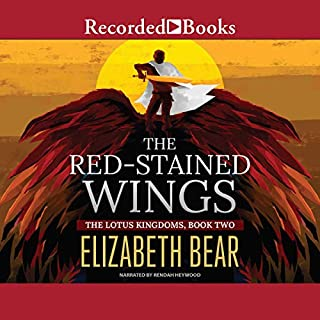 Page de couverture de The Red-Stained Wings