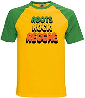 Tribal T-Shirts Men's Roots Rock Reggae T-Shirt
