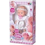 Boneca com mecanismo little baby primeira oração Marca: Milk Bonecas e brinquedos para meninas