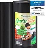 GardenGloss 50m² Toile de Paillage Anti Mauvaises Herbes 150 g/m² Très Épaisse – Toile de...