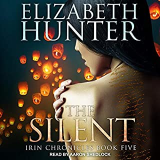 The Silent     Irin Chronicles Series, Book 5              By:                                                                                                                                 Elizabeth Hunter                               Narrated by:                                                                                                                                 Aaron Shedlock                      Length: 9 hrs and 24 mins     Not rated yet     Overall 0.0