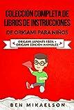 Colección Completa de Libros de Instrucciones de Origami para Niños: Origami Japonés Fácil + Origami Edición Animales