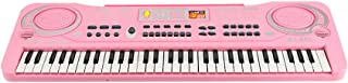 61 Keys Electronic Organ USB Digital Keyd Piano Musical Instrument Kids Toy with Microphone