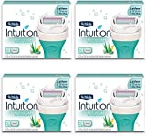 NEW Schick Intuition Natural Sensitive Care Moisturizing Razor Blade Refills for Women with Natural Aloe 12 Count natural hair products Apr, 2021