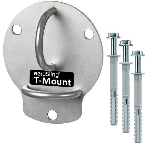aeroSling T-Mount | Wandhalterung / Deckenhalterung für Sling Trainer | Schlingentrainer Equipment / Zubehör