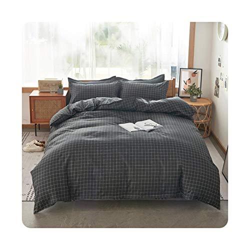 Colorplastic Juego de ropa de cama de tamaño Queen con diseño de cactus verdes para el hogar, sábana de cama individual, ropa de cama de matrimonio, funda de edredón XHG-K-sábana plana, doble 4 piezas