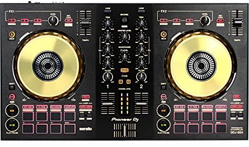 Pioneer DJ DDJ-SB3-N 2-deck Serato DJ Controller - Gold