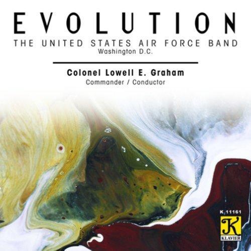Evolution / United States Air Force Band / Holst Mennin Hanson Nelhybel Mays Welcher by Klavier
