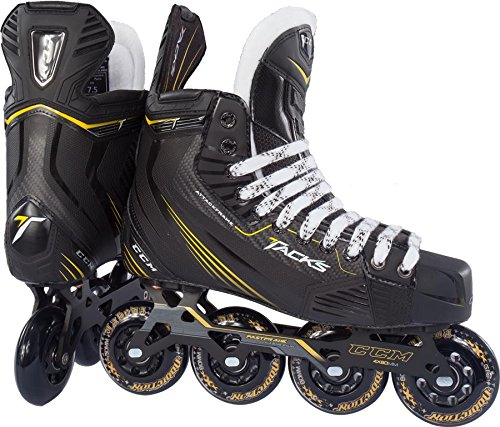 CCM Tacks PRO Senior Inline Hockey Skates, 07.5, D