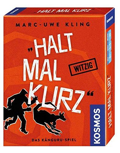KOSMOS 740382 - Halt mal kurz, Das Känguru-Spiel, Witziges Kartenspiel von Bestsellerautor Marc-Uwe Kling, mit exklusiver Känguru-Story
