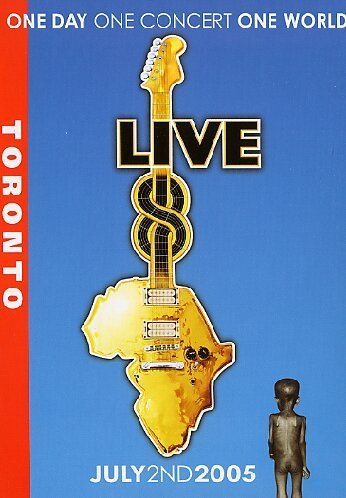 Live 8 - Toronto - One Day, One Concert, One World - July 2nd 2005 [Alemania] [DVD]
