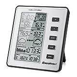 EXCELVAN WH1070 - LCD Estacion Meteorologica Inalambrica (con Sensor, Temperatura,...