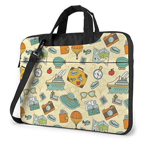 Travel Laptop Bag 13 Inch Shoulder Messenger Bag Computer Tote Briefcase for Work School