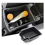 RUIYA Caja de almacenamiento para reposabrazos de K ia Stonic, bandeja organizadora para consola central del coche,...
