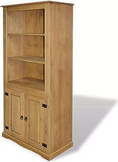 vidaXL Cupboard Mexican Pine Corona Range Sideboard Cabinet Bookcase Highboard