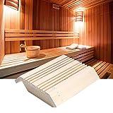 Shanbor Lampenschirm, Saunabeleuchtung, praktische hitzebeständige umweltfreundliche Langlebige Lampe für Saunaräume