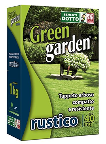Sdd 40000480 Prato Rustico 1 kg, Verde, 18x7.5x27 cm