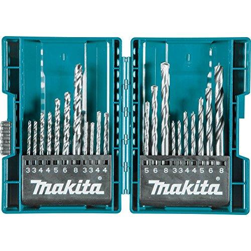 Makita B-44884 21 Pc. Assorted Metric Drill Bit Set