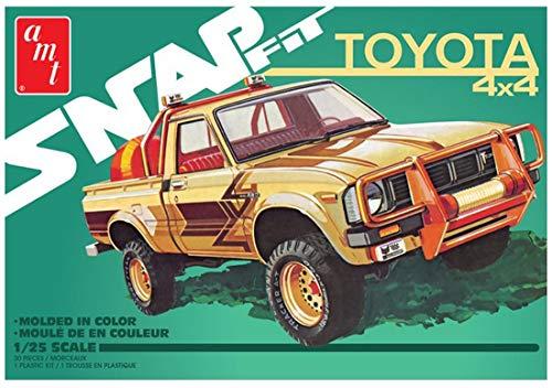 AMT 1/25 1980 トヨタ ハイラックス SR5 ピックアップ (スナップキット)