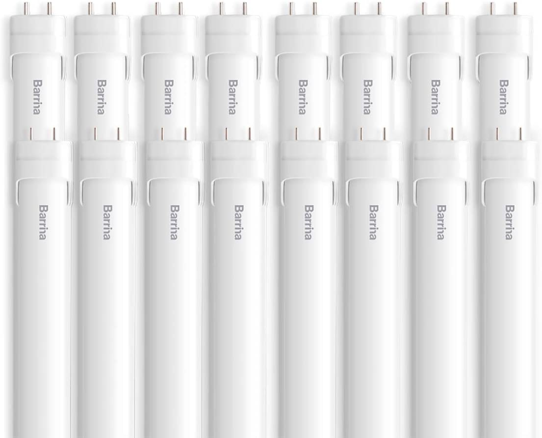 Barrina 16-Pack T8 T10 2021 autumn and winter new T12 LED Super Manufacturer regenerated product Tube 6000K Light 4ft 24W