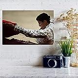 Weiteng Lienzo Impresión de Pared España Cartel taurino Tela de Pared Carteles e Impresiones de Tela Hogar Cafetería Bar Decoración Pintura 50x70cm (19.68x27.55 in) A-652