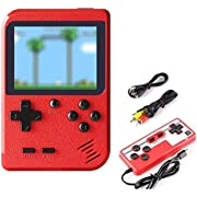 Etpark Handheld Game Console Retro Mini Game Player with 400 Classical FC Games 2.8-Inch Color Screen Support for Connecting TV and Two players 800mAh Rechargeable Battery Present for Kids and Adult