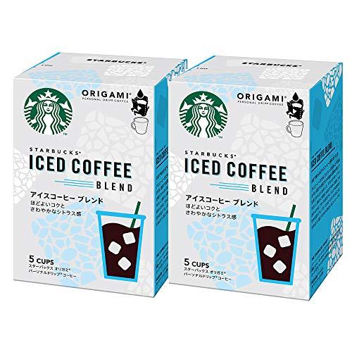 ネスレ スターバックス オリガミ パーソナルドリップ コーヒー アイスコーヒー ブレンド 5袋 ×2袋