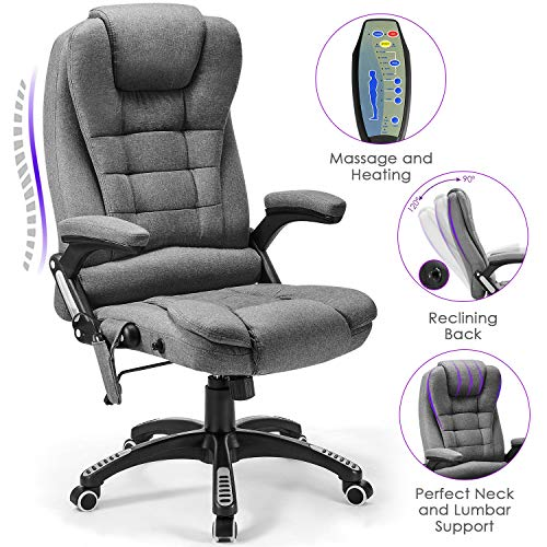 The 17 Best Heavy Duty Reclining Office Chairs [2020 Review]