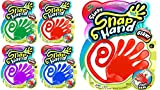 Fun A Ton Jumbo Giant Sticky Hand Stretchy Snap Toys (4 Packs Assorted) . Great Sticky Hands Party...