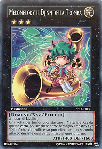 Yu-Gi-Oh! - SP14-IT030 - Melomelody Il Djinn Della Tromba - Star Pack 2014 - 1st Edition - Comune