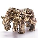 開運 エーラーワン アイラーヴァタ 象 ゾウ 神象 真鍮製 置物 タイ 王国 製 お守り