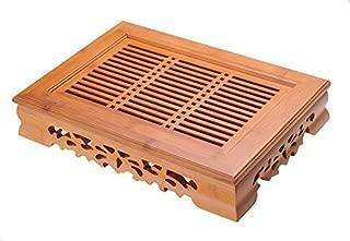Yeme Tasteful Bamboo Tea Table Serving Tray 14