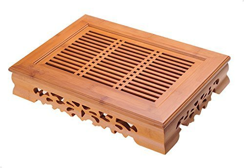 Bamboo Tea Table Serving Tray