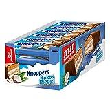 Knoppers KokosRiegel (24 x 40g) / Kokosriegel mit Karamell und Milchschokolade