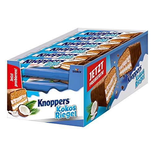 Knoppers KokosRiegel (24 x 40g) / Kokosriegel mit Karamell in Milchschokolade