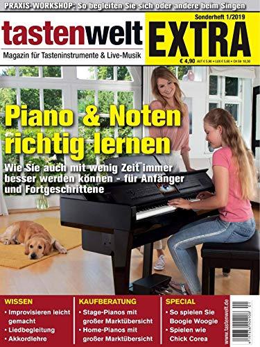 tastenwelt EXTRA 2019: Piano & Noten richtig lernen