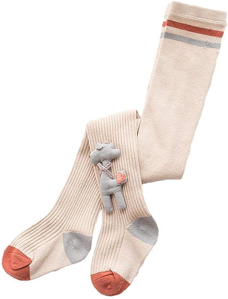 Vikenner Girl Doll Tights Lovely Cartoon Winter Pantyhose Cotton Stockings