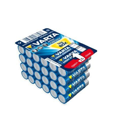 VARTA Alkaline Batterie ´LONGLIFE Power´ BIG BOX, Micro AAA, Inhalt: 24 (Neu)
