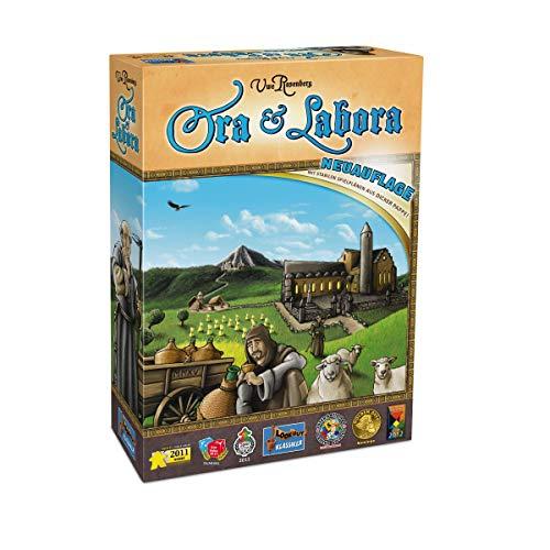 Lookout Games 22160046 Ora et Labora - Juego de Mesa (edición Nueva)