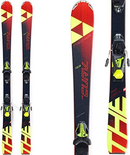 FISCHER Kinder Skier RC4 The Curv Pro inkl. Bindung FJ7 AC schwarz/rot (701) 160