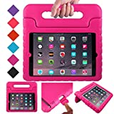 BMOUO Kids Case for iPad 2 3 4 - ShockProof Light Weight Convertible Handle Stand Case Cover for Apple iPad 9.7 Inch (iPad 2nd & 3rd & 4th Generation) - Rose