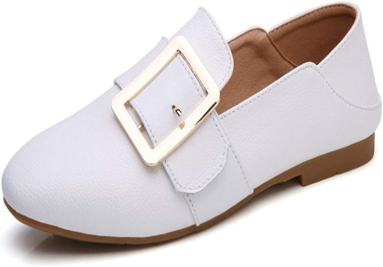 Gusha Elegant Women's shoes Loafers Retro Flat Casual shoes Walking shoes