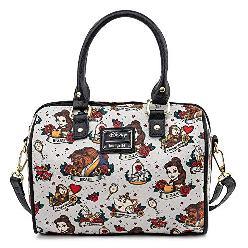 Beauty and the Beast Faux Leather Handbag