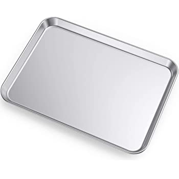 Amazon Com Commercial Grade Aluminum Full Sheet Pan Baking Sheets Kitchen Dining