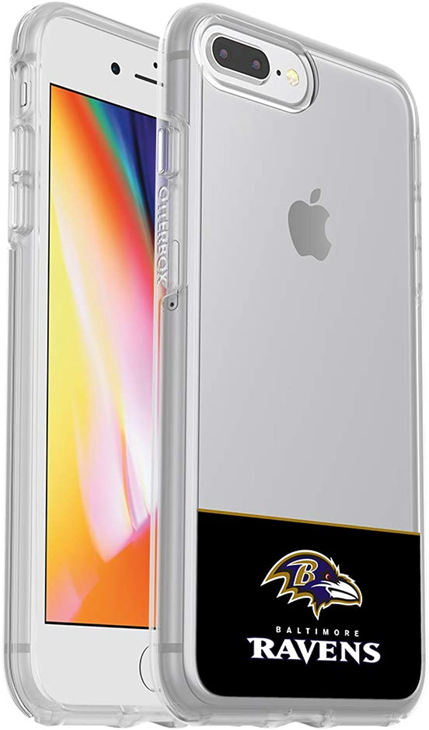 OtterBox NFL Symmetry Series Case for iPhone 8 Plus & 7 Plus (ONLY)  Retail Packaging  Ravens