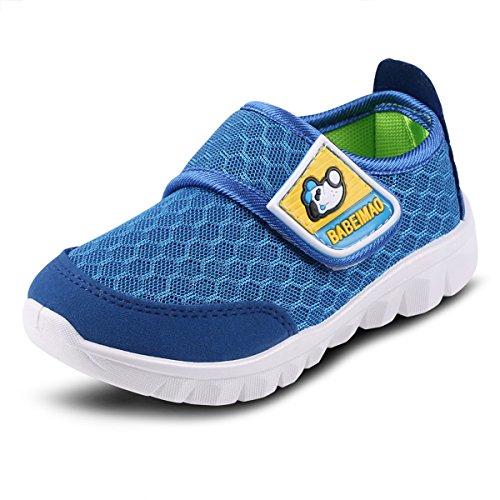 New Balance Kids' 455v2 Hook and Loop Running Shoe, Magnet/Velocity, 4 W US Toddler