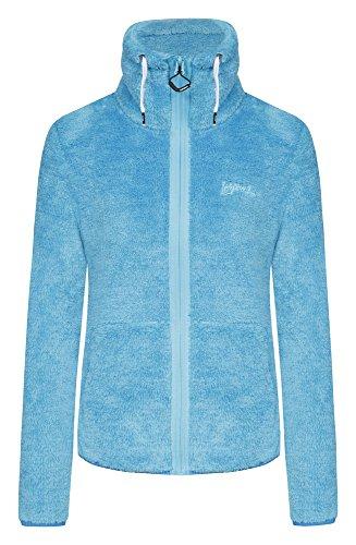 ICEPEAK Damen Trico Jacket Karmen, Light Blue, 40