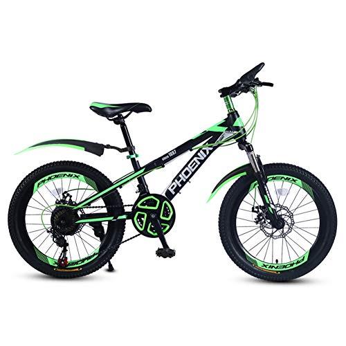 YJTGZ Fahrräder Schulkinder Fahrrad 20 Zoll Junge und Mädchen Outdoor Fahrrad Bergsteigen Mountainbike Variable Geschwindigkeit Fahrrad Geeignet für Studenten